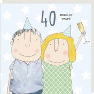 Rosie Made a Thing '40 Amazing Years' Card